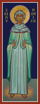 Icon of St. Monica