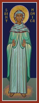 Icon of St. Monica